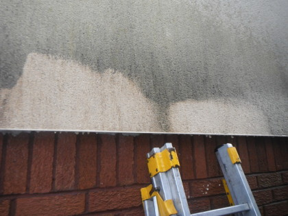 Image of test Specialist Cleaning of K-rend Render Chester Cheshire . www.cleaning-service.uk.com