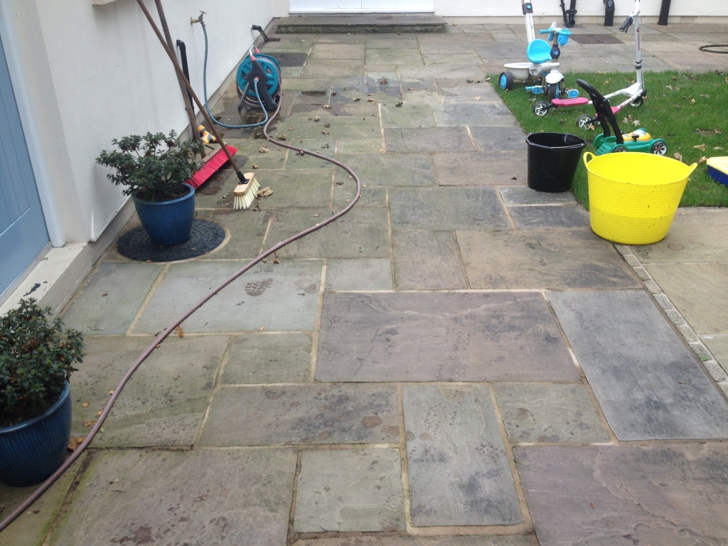 image of cleaning and block spot removal in skelmersdale lancashire