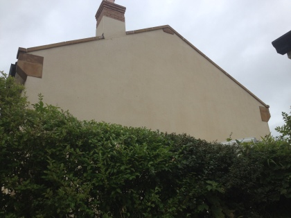 Image of after K rend render cleaning Manchester Cheshire