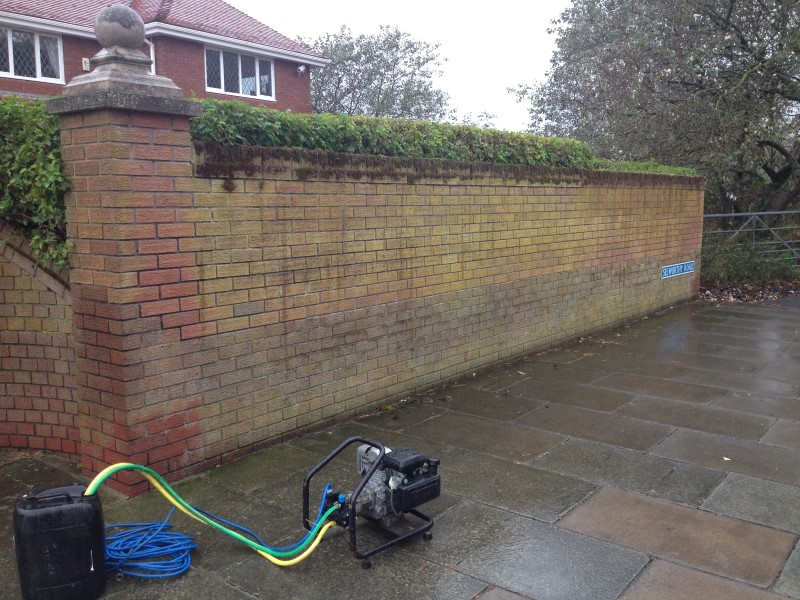 Softwashing image liverpool merseyside
