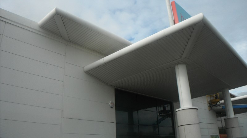 Cladding and Building Cleaning image warrington chesire