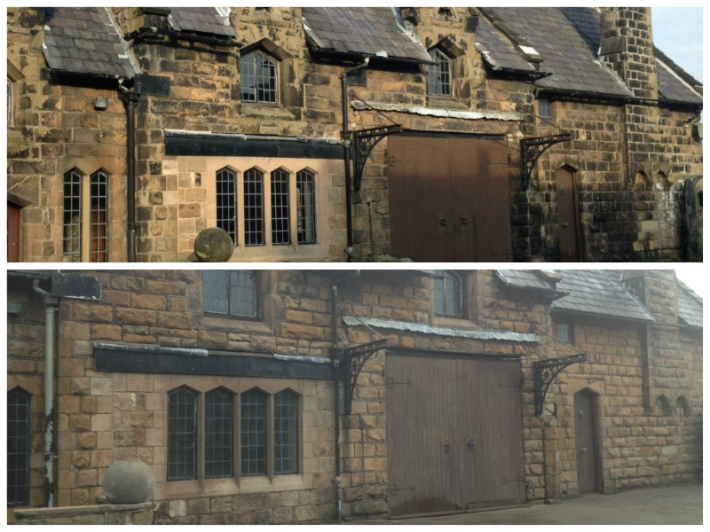 Listed building cleaning in ormskirk lancashire