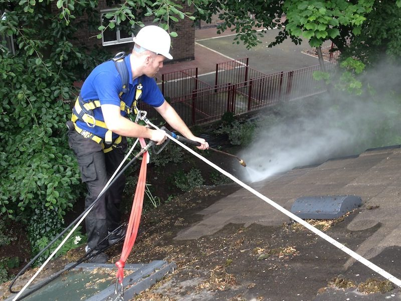 image of Pressure washing Company Preston www.cleaning-service.uk.com
