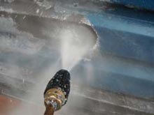 Image of pressure washing company covering .lancashire Merseyside and lancashire .