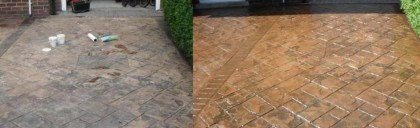 image of pressure washing and driveway cleaning liverpool merseyside