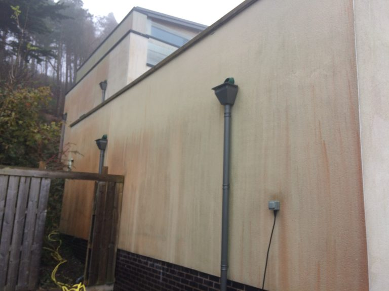 image of before k render cleaning company Wales
