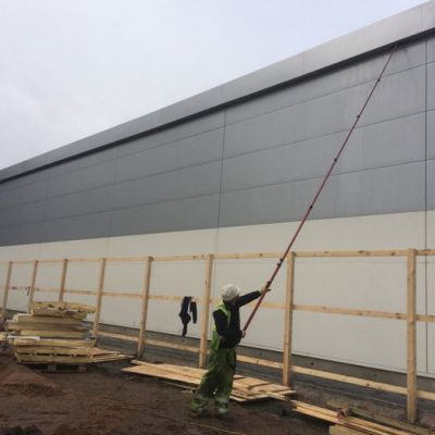 Cost effective Cladding Cleaning in Preston Lancashire