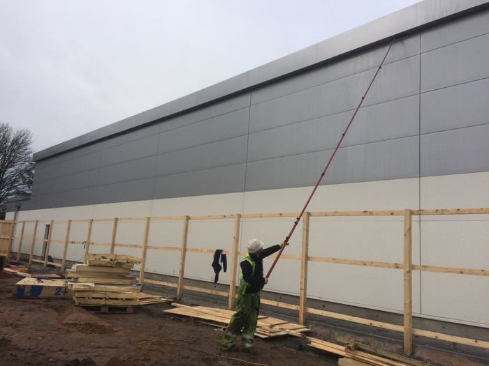 IMAGE OF Industrial cladding cleaning company WWW.CLEANING-SERVICE.UK.COM