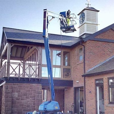 Professional roof cleaning company in Southport Merseyside