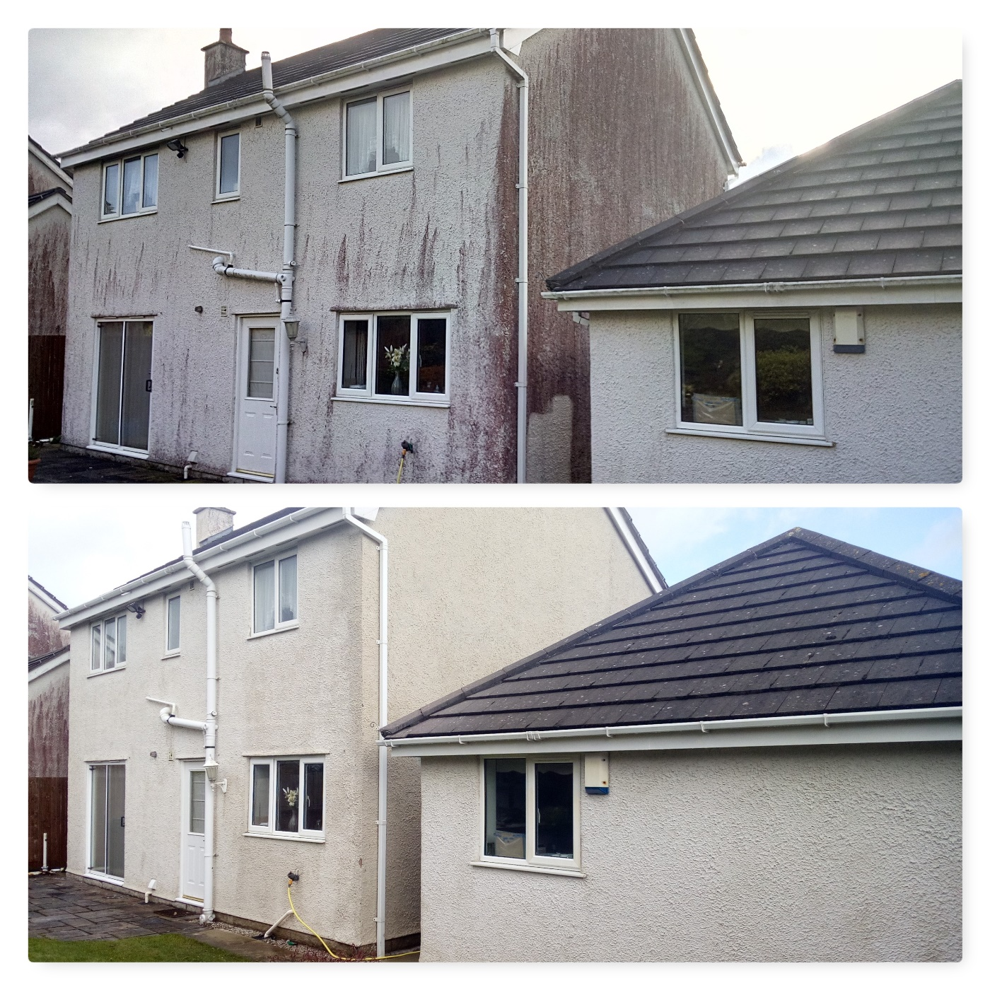 images of How to Remove stains from render www.cleaning-service.uk.com