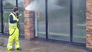 image of Pressure washing services in Preston, Lancashire www.cleaning-service.uk.com