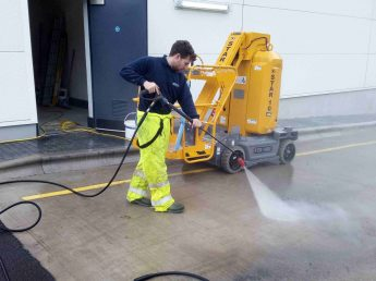 Pressure washing company in Lytham St Annes Lancashire