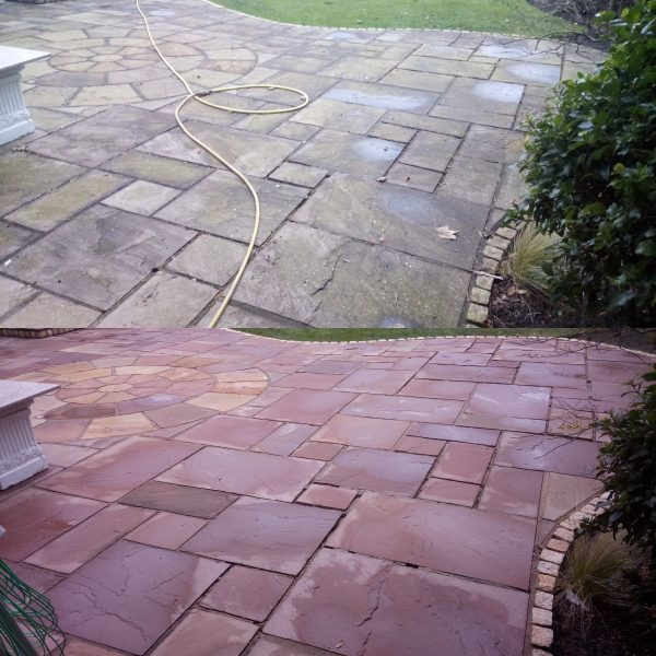 How to Clean Paving and Patios Without Harsh Chemicals