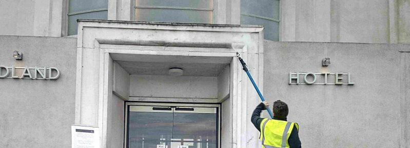 Cleaning Service Exterior Building Cleaning Service Company