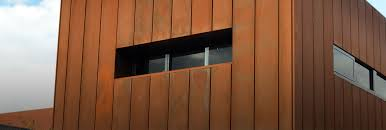Corten steel cleaning and sealing image www.cleaning-service.uk.com