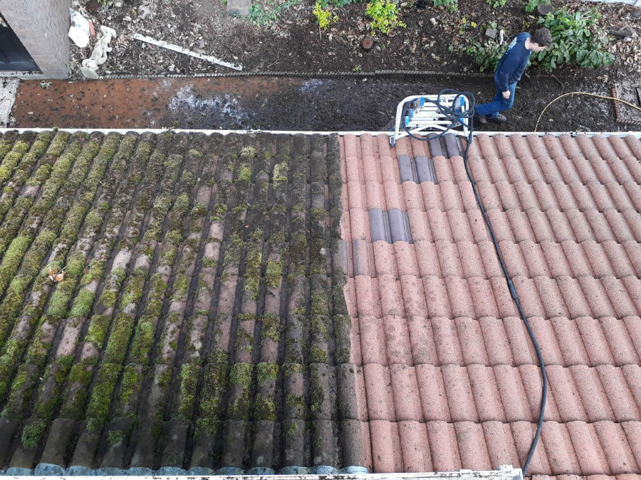 Cost effective company Roof Cleaning in Skelmersdale Lancashire