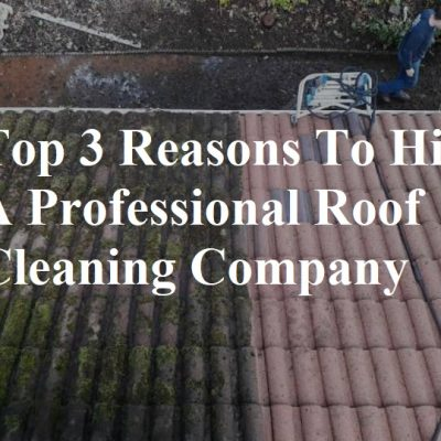 3 Reasons to Hire a Professional Roof Cleaning Company