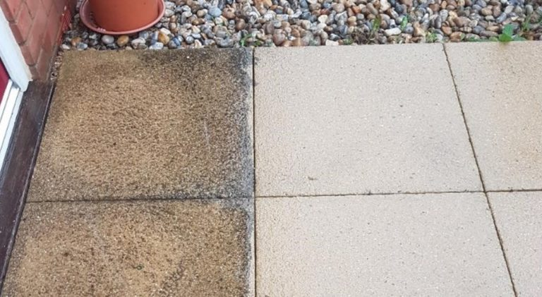 image showing Remove Black Spots From Patio www.cleaning-service.uk.com