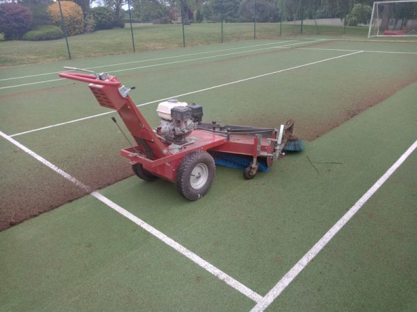 Macadam or Synthetic Tennis Court Cleaning & Maintenance